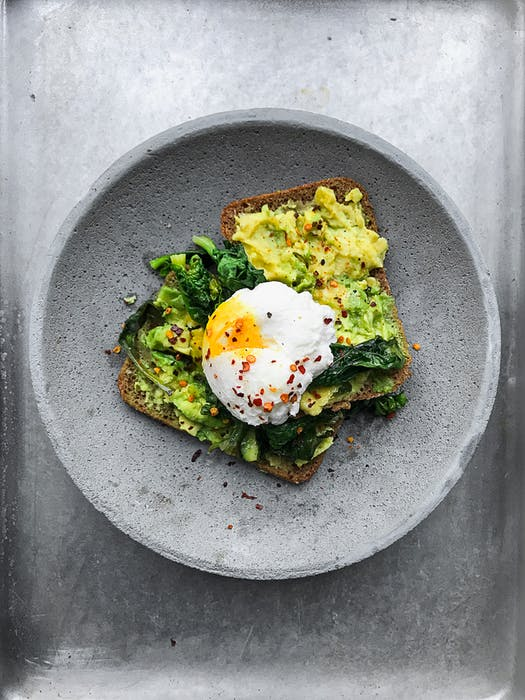 Chilli, Poached Egg, Avocado on Toast